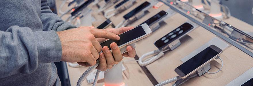 téléphones mobiles et Smartphones